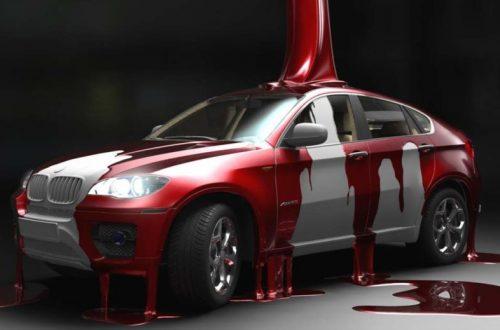 Сколько стоит перекраска вашего автомобиля?